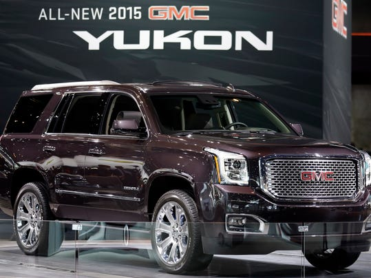 Behind The Wheel 2015 GMC Yukon Denali