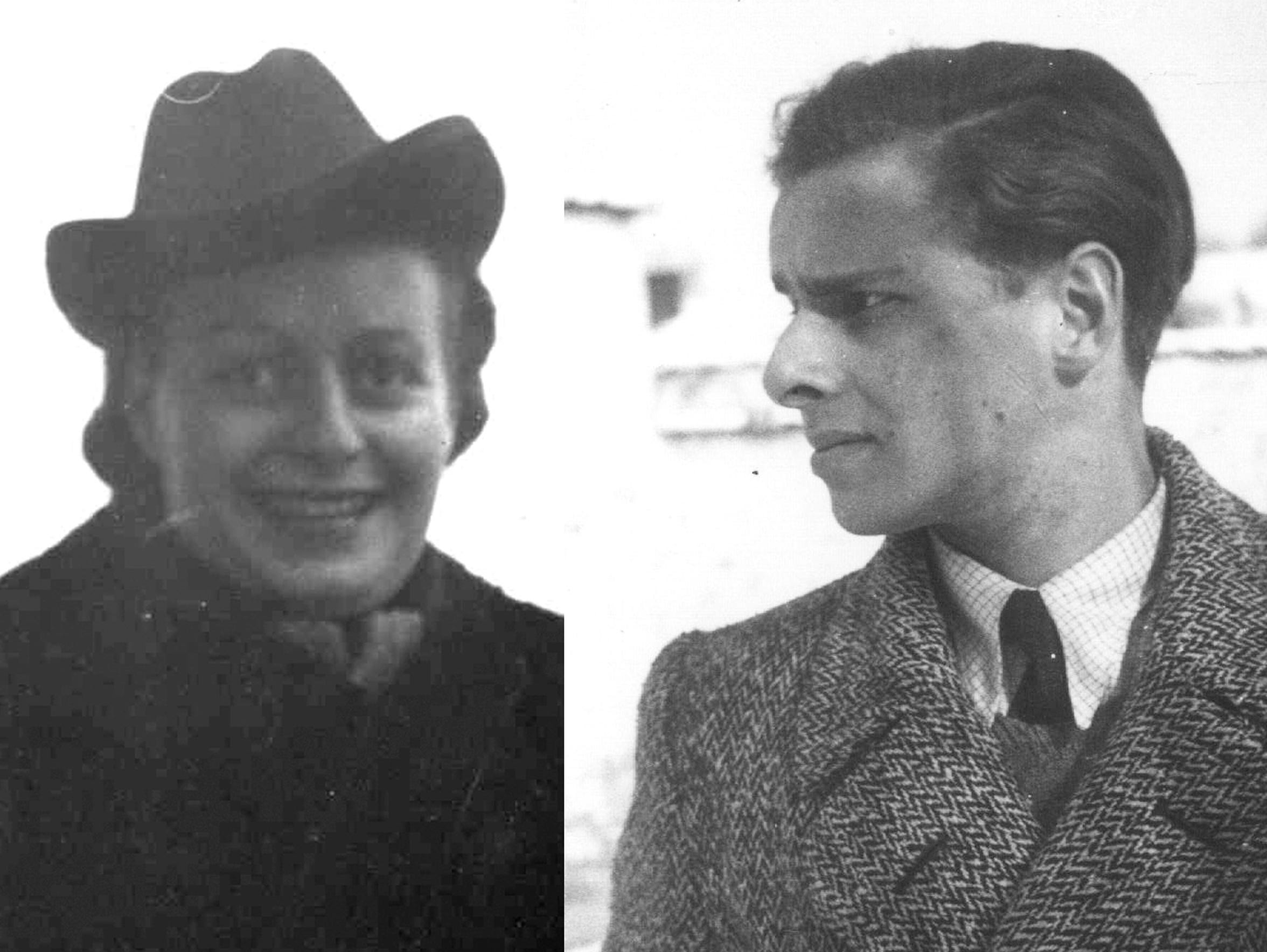 Lore Grunewald and her brother Klaus were both taken