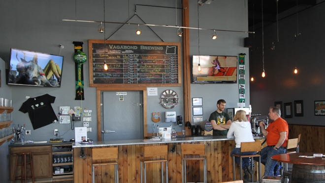 Vagabond Brewing is now serving lunch and has extended its hours.