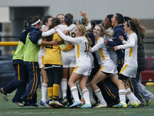The Spencerport girls soccer team won the state Class A title and was ranked fourth in 'USA Today's' final poll in 2016.