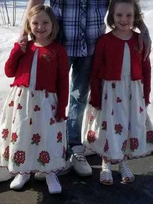 Alexis and Lillian Klimek are the 2018 Poppy Princesses for Algoma American Legion Post 236 and will be among those distributing Legion poppies this weekend and on Memorial Day in Algoma. Alexis and Lillian are the daughters of Amanda Blahnik and granddaughters of American Legion Auxilary President Lynn Conard and Cmdr. Cletus Conard.