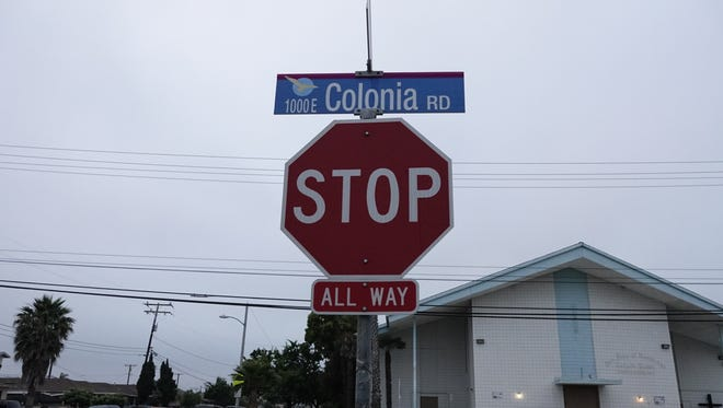 STAR FILE PHOTO Colonia Road in Oxnard