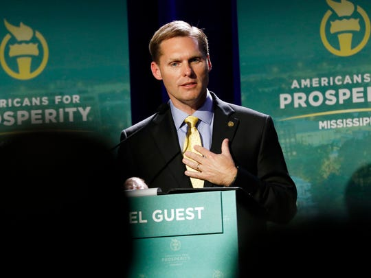 Michael Guest is one of six GOP candidates in the 3rd