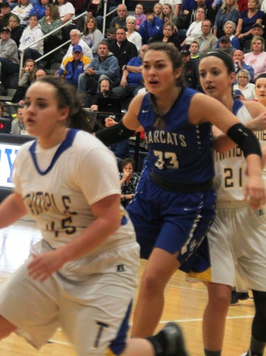 trimble girls Jessi spears was listed as questionable when waterford visited glouster for a tvc-hocking match-up, spears did suit up for action, but trimble reporter pat m.