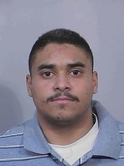 John Hernandez Felix, suspect in the killing of two Palm Springs police officers.