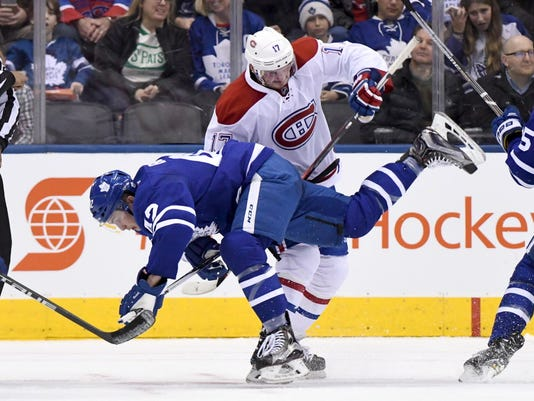 USP NHL: MONTREAL CANADIENS AT TORONTO MAPLE LEAFS S HKN CAN ON