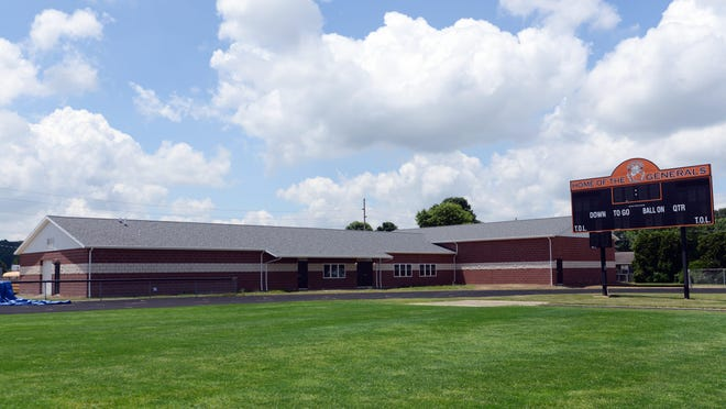 Ridgewood's new multipurpose athletic facility sits on the south end of the football stadium and is due to open on July 6, according to Superintendent Mike Masloski. The $700,000 project, a joint effort between the school district and Block R Foundation, was constructed solely by local businesses.