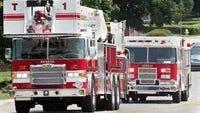 Seneca fire department trucks