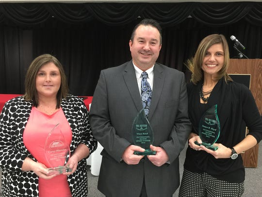 Tri-Rivers Career Center honored its 2016 outstanding