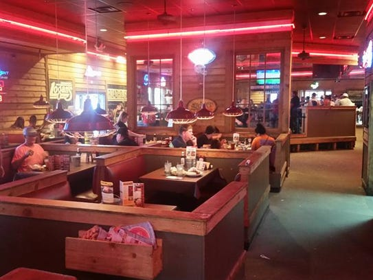Logan's Roadhouse in San Angelo just hours before it