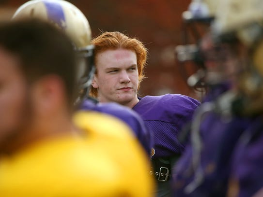 Ryan Brooks ranks second on North Kitsap with 66 tackles, including 21 for loss.