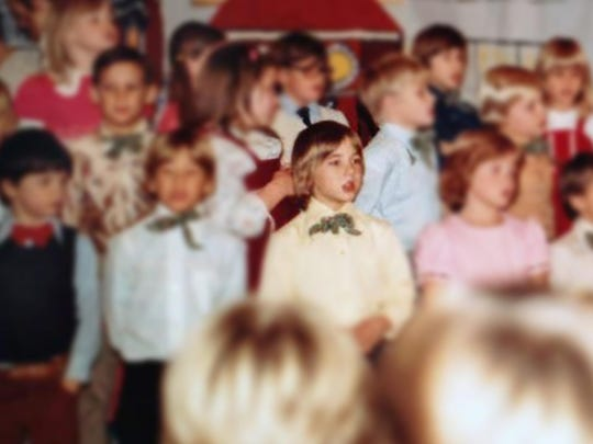 Shawn Moore, 13, performs with his classmates in a Christmas pageant at Hawkins School circa 1981-1982. Shawn was kidnapped Aug. 31, 1985, and murdered the next day in Gladwin.