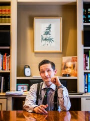 Dr. Matt Roman is shown in his office at Nature's Way