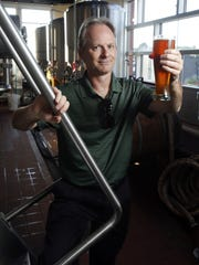 John Medkeff, Jr. at Iron Hill Brewery in Wilmington