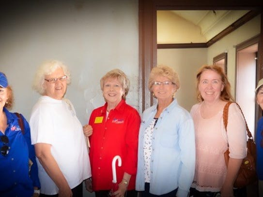 DAR chapter representatives from around New Mexico