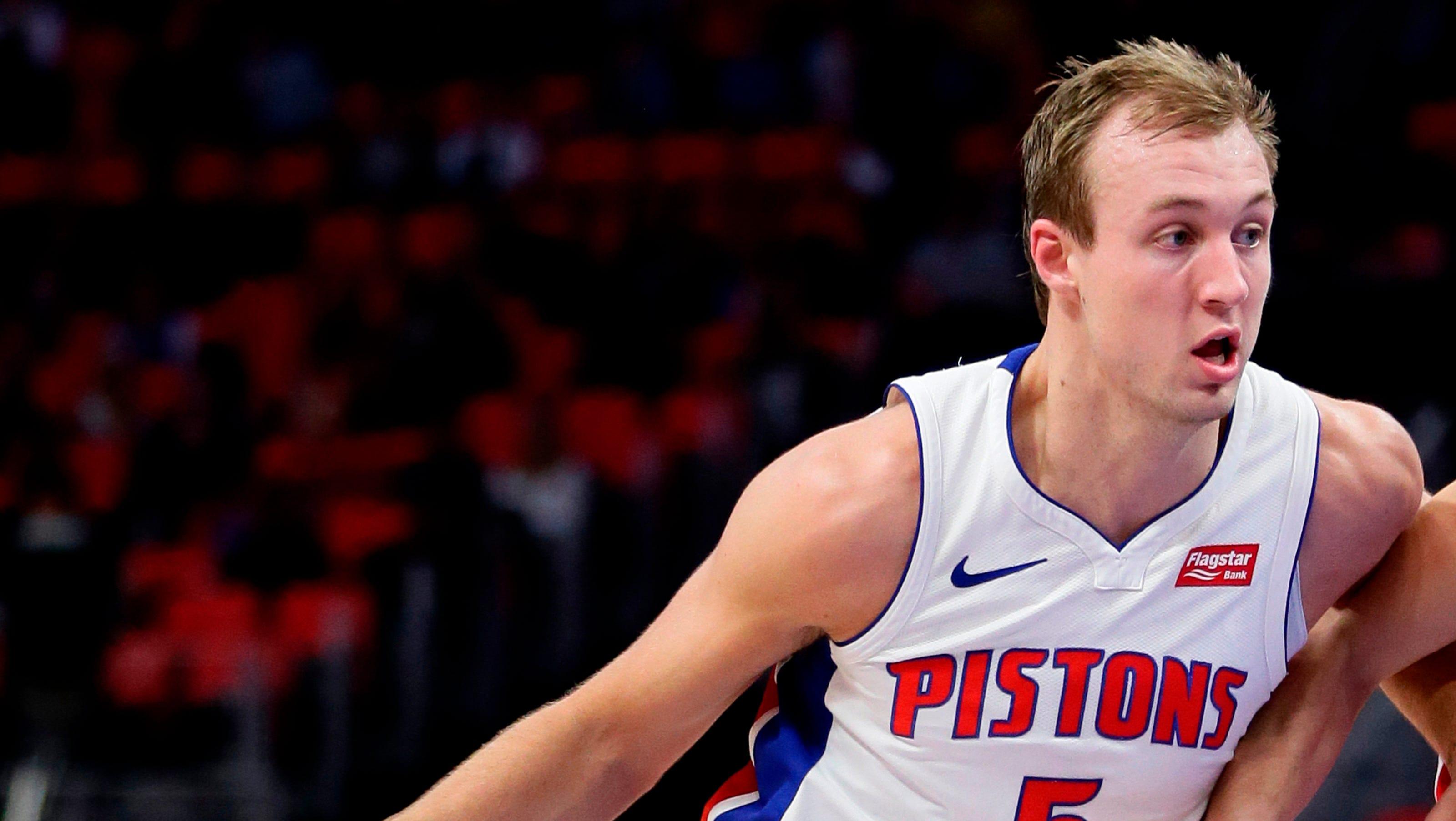 Pistons' Luke Kennard suffers shoulder injury