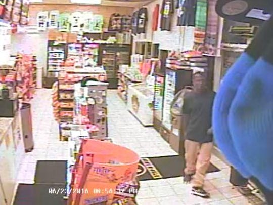 Surveillance from the the Stop-N-Shop.