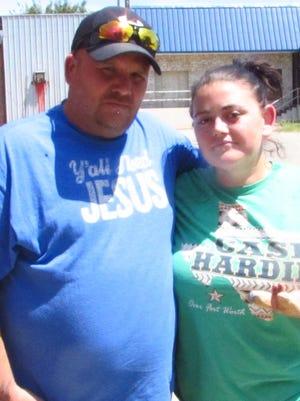 Robert and Erica Richardson described Kimberly Allen as a sweet, caring friend.