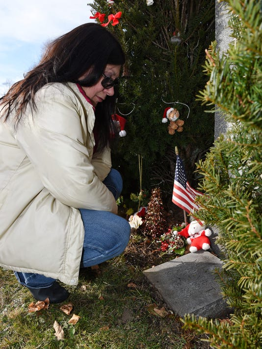 st peters cemetery removal of grave decorations angers mother - Christmas Grave Decorations