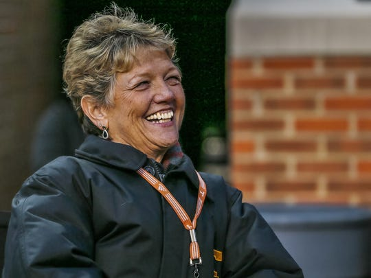 Judy Dooley is retiring after working as assistant to the UT band directors for more than 20 years.