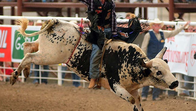 The Central Bull Riders Association national finals is coming to Marshfield.
