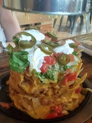Trash Nachos at Monterrey Grill.