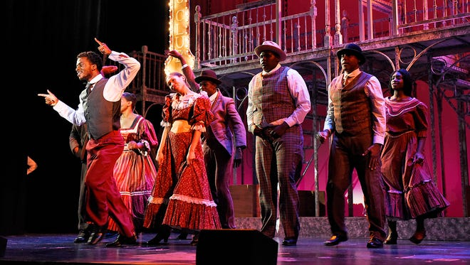 """The GREAT Theatre Co. rehearsal Thursday, Sept. 8 for their production of """"Ragtime"""" at the Paramount Theatre."""