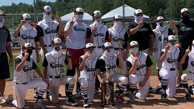 The Coastal Riptide U13 baseball team defeated the Western Maine Grizzlies on Sunday, winning the Elite Baseball League Maine championship at the Wainwright Sports Complex in South Portland.