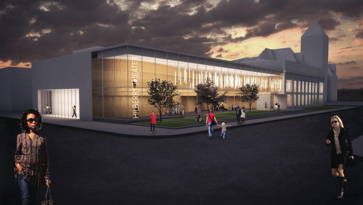 Renderings show the future Hilberry Gateway Performance