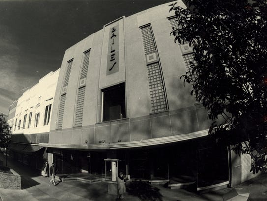 The Bailes Building  was a landmark in downtown Anderson,