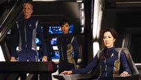First clips of characters, action from new CBS All Access series  'Star Trek Discovery' is released.