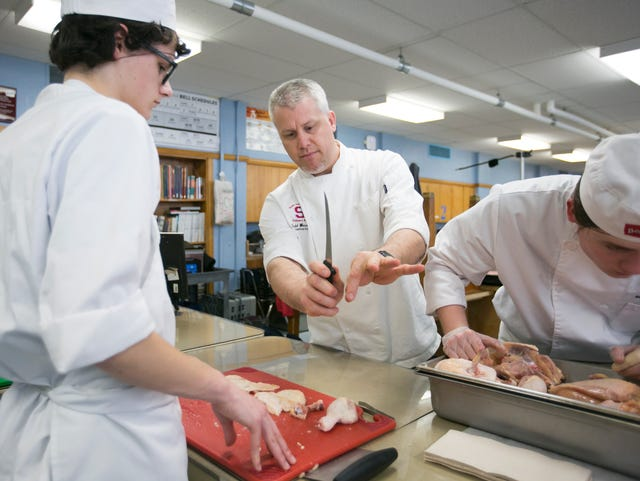 South Salem Culinary Instructor Todd Wieweck Coaches