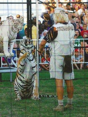 Brunon Blaszak's Royal Bengals Tiger Show will perform daily shows at the York Fair Sept. 8-17.