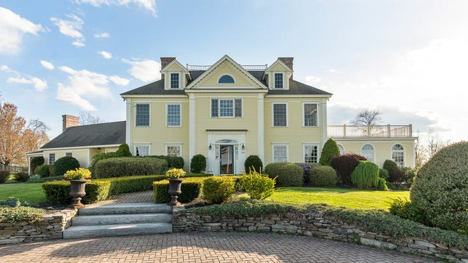 This 6,620-square-foot house at 390 Goodrich St. in Lunenburg lists for $1.55 million.