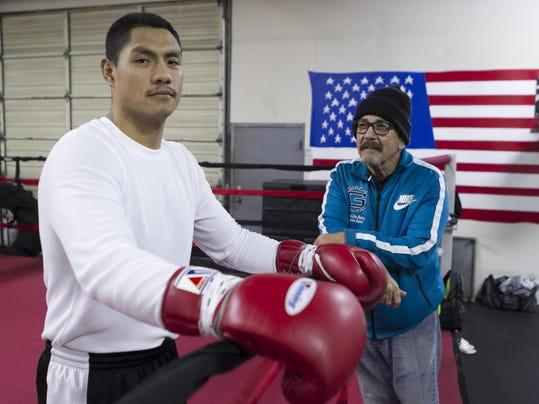 Boxer Rudy Puga Jr.