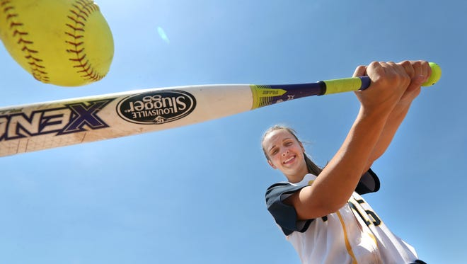 Victor High School senior shortstop Sammie Torlish is the All-Greater Rochester Softball Player of the Year,