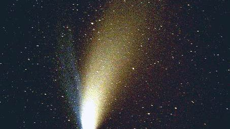 This photo of the Hale-Bopp comet was taken March 30, 1997, in Tooele County.  An Arkansas researcher says a comet will be visible for weeks in December 2018.