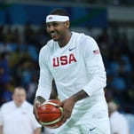 Carmelo Anthony details his time spent in a Rio favela