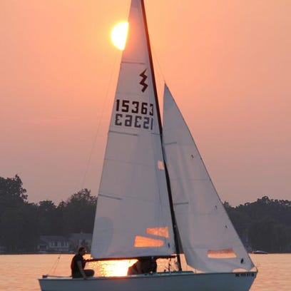 Try sailing with LSJ reporter Kate DuHadway and the Lansing Sailing Club Sunday, Oct. 4 at Lake Lansing.