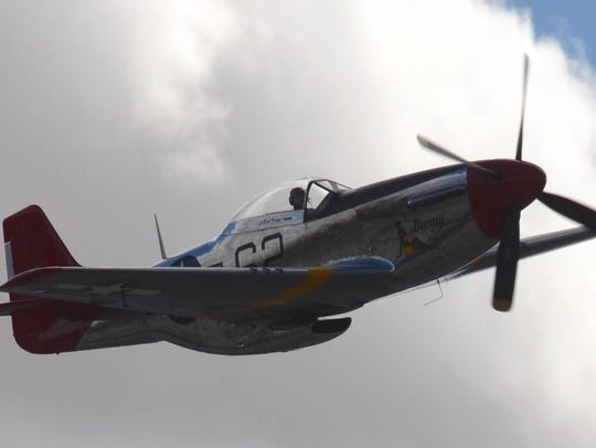 The Palm Springs Air Museum restored this P-51 Mustang