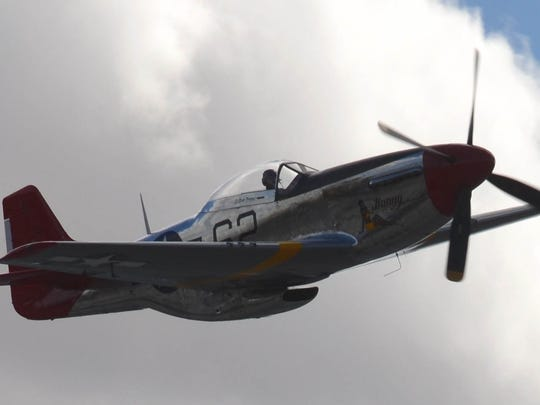 The Palm Springs Air Museum restored this P-51 Mustang in honor of Lt. Col. Bob Friend, one of the oldest living Tuskegee Airmen. The plane will participate in the air races in Reno, Nev., next weekend.