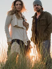 Nashville-based husband and wife country songwriting