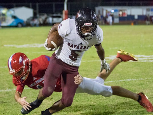 Navarre vs Pine Forest football