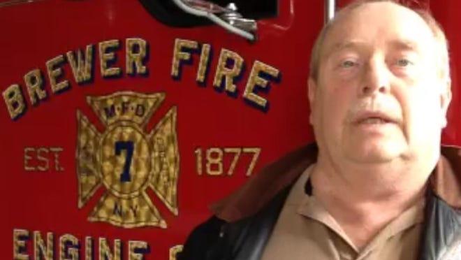 Monsey Fire Chief Richard LaGarde.