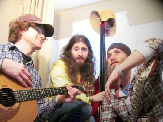The local trio Banjaw performs each month at York's First Capital Dispensing Co.