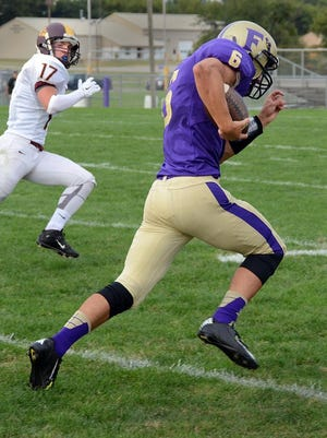 Nick Semke ran for a touchdown and threw for another, but Linden proved far too much for Fowlerville, 57-14