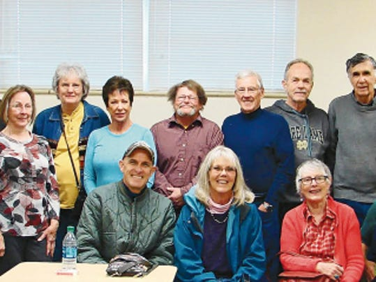 Members of the Silver City Gin Rummy club include, from left, John Mead, Helen Matelson, John Pecoroni, Donna Sebastian, Sandra McEuen, Billie Turrieta, Jeff Goin, Allan Jones, Theresa Murphy, Leif Nordell, Michael Klein, Pat Sterling, Steve Oppenheim, Sharyn McDonald, Ted Pressler, andteacher Spike Flanders. Courtesy Photo