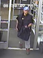 Chesterfield Police said this man is wanted for questioning related to an inappropriate touching case.