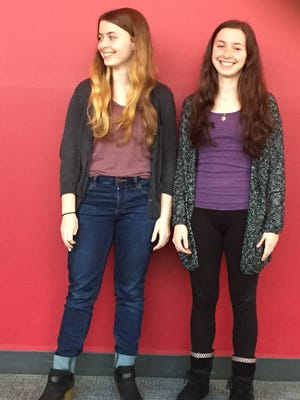 """Twin sisters Alex (left) and Sydney Salter (right) will play twins in the Young Company's production of """"The Comedy of Errors."""""""