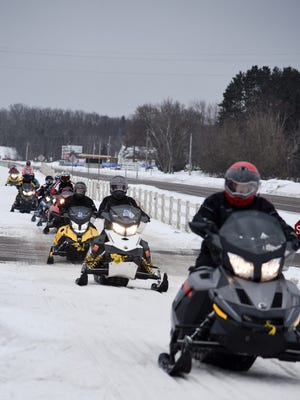 The 35th Annual Multiple Sclerosis Snowmobile Tour.will be Jan. 25-27. Riders will meet at Potawatomi Carter Casino and Hotel in Carter